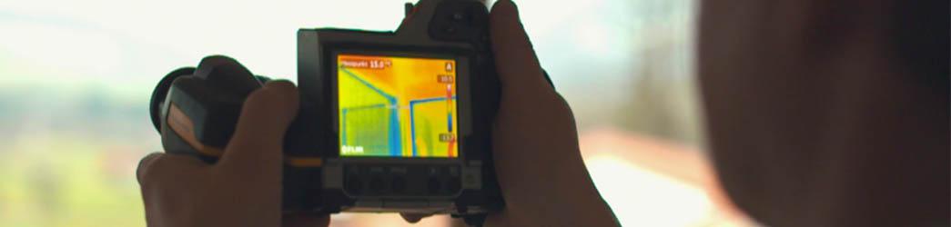 Luftdichtheitsmessung - Blower Door - Gebäudeökologie Buchstaller