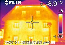 Thermographie von Gewerbe- und Wohngebäuden - Gebäudeökologie Buchstaller