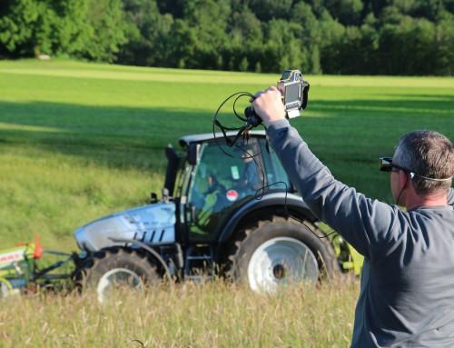 Feld-Thermographie – Feld gemäht, Bambi lebt, Landwirt glücklich!